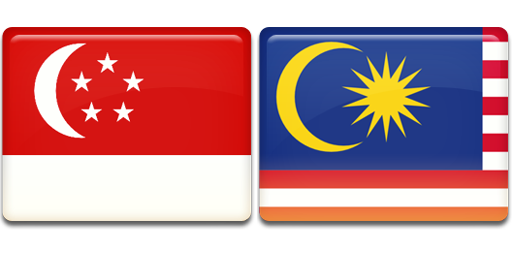Green Pasture Asia - Flag of Singapore and Malaysia